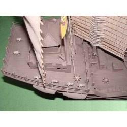 GF-0406-044 G-Force RC - Rondelle en aluminium - pour vis à tête creuse M4 - OD : 10mm – Blue - 10 pièces