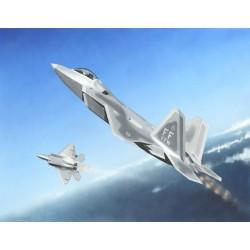 TRU01317 TRUMPETER F-22A Raptor 1/144