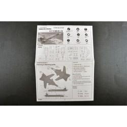 GF-2000-003 G-Force RC - Elastiques pour ailes 100 x 5mm (20pcs)