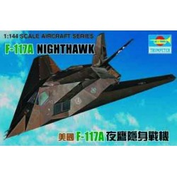 TRU01330 TRUMPETER F-117 Night hawk 1/144