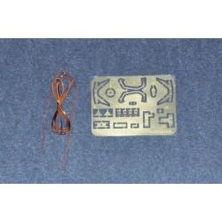 GF-4006-003 G-Force RC - Adaptateur de couplage Flex 12 - Diagramme d'arbre 3.2mm - 1 pièce