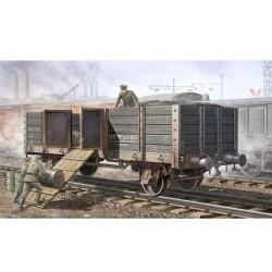 TRU01517 TRUMPETER Germ.Railway Gondola 1/35