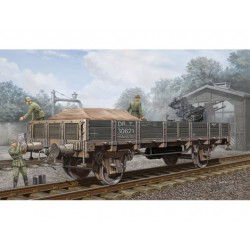 TRU01518 TRUMPETER Germ.Railway Flatbet 1/35
