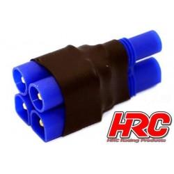 HRC9183C Adaptateur - pour 2 Accus en Parallèle - Version Compacte - Prise EC3