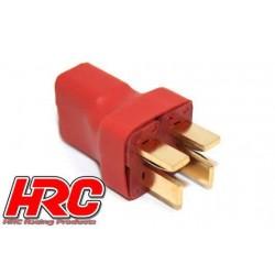 HRC9184C Adaptateur - pour 2 Accus en Parallèle - Version Compacte - Prise Ultra T