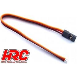 HRC9215 Câble de servo - JR type - 30cm Long