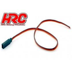 HRC9217 Câble de servo - JR type contre-fiche - 30cm Long