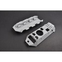 HB116260 Corps d'amortisseur arr 45 / 12mm (2)