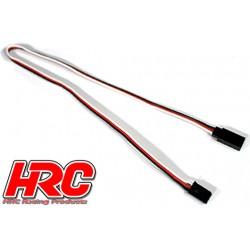HRC9232 Prolongateur de servo – Mâle/Femelle - UNI (FUT & JR) type - 30cm Long