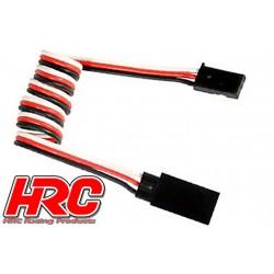 HRC9234 Prolongateur de servo – Mâle/Femelle - UNI (FUT & JR) type - 50cm Long