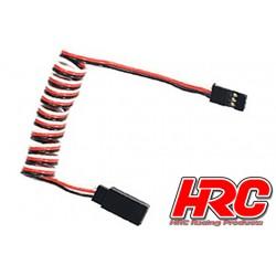 HRC9236 Prolongateur de servo – Mâle/Femelle - UNI (FUT & JR) type - 80cm Long