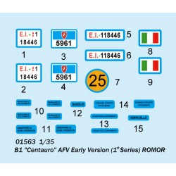HB114624 Mousses de filtre à air (4 paires)