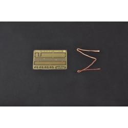 TE182B64 Support d'amortisseur avt carbone pour B64
