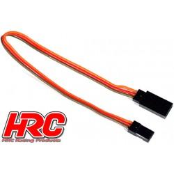 HRC9241 Prolongateur de servo – Mâle/Femelle - JR type - 20cm Long