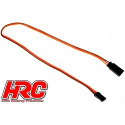 HRC9242 Prolongateur de servo – Mâle/Femelle - JR type - 30cm Long