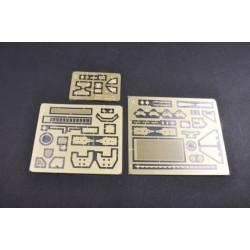 TGSS-410F Vis acier nitride Gold 4x10 mm fraisées (10)
