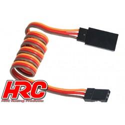 HRC9244 Prolongateur de servo – Mâle/Femelle - JR type - 50cm Long