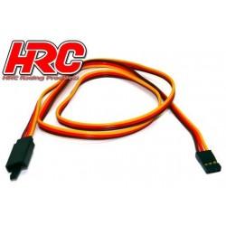 HRC9245CL Prolongateur de servo - avec Clip – Mâle/Femelle - JR type - 60cm Long