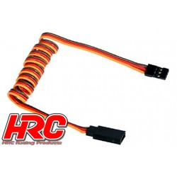 HRC9246 Prolongateur de servo – Mâle/Femelle - JR type - 80cm Long