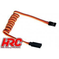 HRC9247 Prolongateur de servo – Mâle/Femelle - JR type - 100cm Long