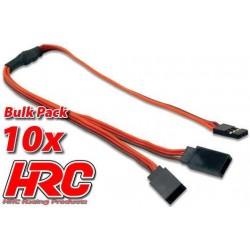 HRC9249B Câble - Y - JR type - BULK 10 pces
