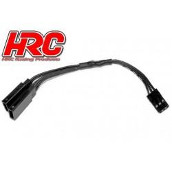 HRC9249K Câble - Y - JR type – Noir/Noir/Noir