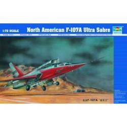 TRU01605 TRUMPETER US F-107A 1/72
