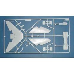 FPV Racing Propellers - 4-blades - Nylon Fiber - 5040 Type - ID M5 / 7mm Hub - 1x CW + 1x CCW - Orange