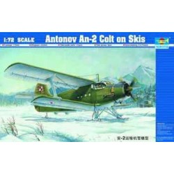 TRU01607 TRUMPETER An-2 Colt on Sledge 1/72