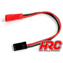 HRC9261 Adaptateur - Prise servo JR Prise accu BEC