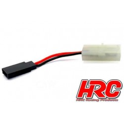 HRC9263A Adaptateur - Prise Tamiya Prise accu JR
