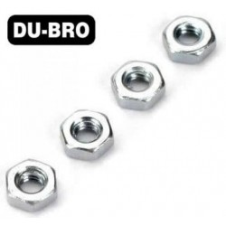 DUB2103 Nuts - 2mm Hex Nuts (4 pcs per package)