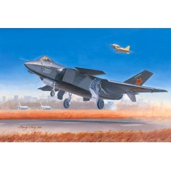 TRU01663 TRUMPETER Chinese J-20 Fighter 1/72