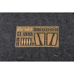 AL8726 Bossoirs de canot 45mm (4 u.)