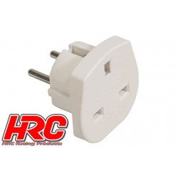 HRC9381 Accessoire de chargeur - Adaptateur prise UK à Schuko