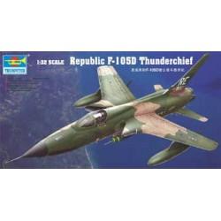 TRU02201 TRUMPETER F-105D Thunderchief 1/32