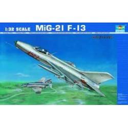 TRU02210 TRUMPETER MIG 21 F-13 1/32
