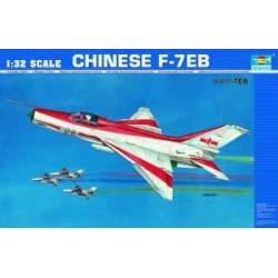 TRU02217 TRUMPETER Chengdu F-7EB 1/32