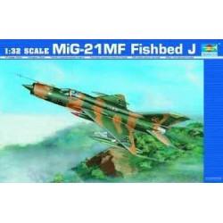 TRU02218 TRUMPETER MIG-21 MF 1/32