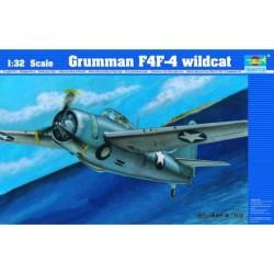 TRU02223 TRUMPETER Grumman F4F4 Wildcat 1/32