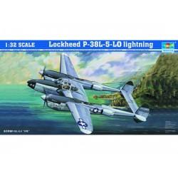TRU02227 TRUMPETER Lockheed P38L-5-Lo 1/32
