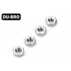 DUB2104 Nuts - 2.5mm Hex Nuts (4 pcs per package)