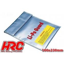 HRC9701D Sac de sécurité LiPo - Type plat – 180x230mm