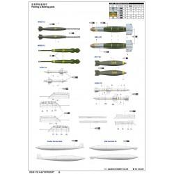 """GF-0510-003 G-Force RC - Roulement céramique """" ABEC 3"""", Flasque caoutchouc, 5X11X4C - MR115-2RS/C, (2 pcs)"""