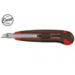 EXL16810 Outil - Cutter utilitaire - K810 - Light Duty - Soft Grip – Réservoir - avec 5 lames fractionnables en 13 points