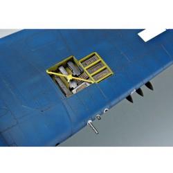 GF-1301-060 G-Force RC - Adaptateur d'alimentation - Fiche Deans Fiche MPX - Fil de silicone 14AWG - 1 pièce