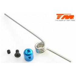 TM111050B Support d'échappement - M3 – Bleu
