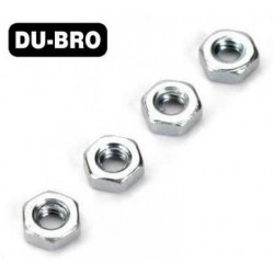 DUB2105 Nuts - 3mm Hex Nuts (4 pcs per package)