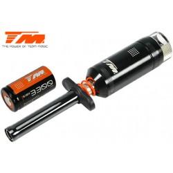 TM114203-33 Chauffe bougie - Black Magic - avec accu et vue-màtre - 3300 mAh