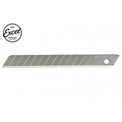 EXL20003 Outil - Lames de cutter - Lames fractionable en 13 points - 9mm (5 pces) - Pour cutter K10, K14, K70 et K810